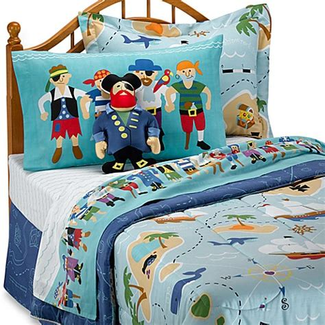 pirate bedding olive kids pirates twin mini comforter set buybuy baby