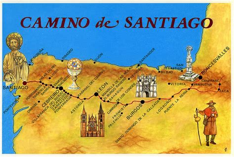 pilgrim s guide to the camino de santiago the my unquiet the camino de santiago
