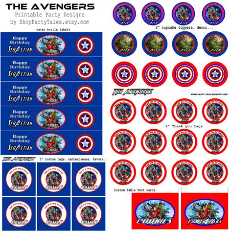 avengers printable party decorations party tales birthday party the avengers