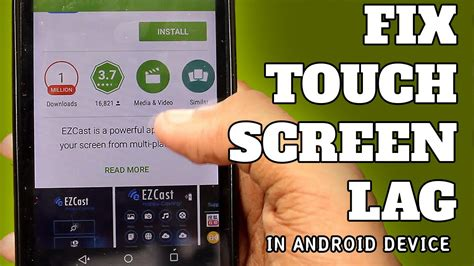 android screen repair fix touch screen lag in android micromax unite 2