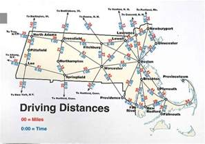 us map and driving distances map of massachusetts boston map pdf map of