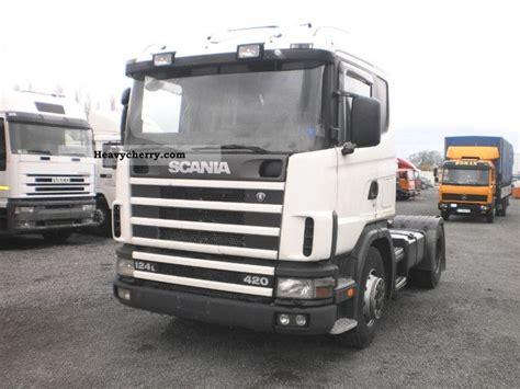 scania l 124 a 420 1999 standard tractor trailer unit