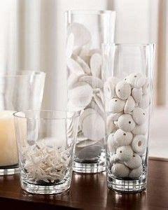 would you like to decorate a vase with just coins 10 ways to decorate with glass cylinders jars the white