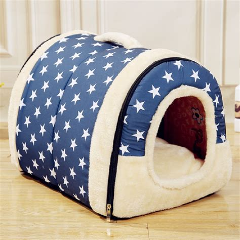house dog bed hot multi function dog house nest with mat foldable pet dog bed cat bed house for s m