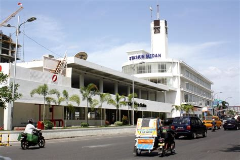 Denah Stasiun Kereta Api Medan | 7 stasiun kereta api terbaik di indonesia
