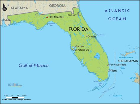 Florida Simple Search Road Map Of Florida And Florida Road Maps