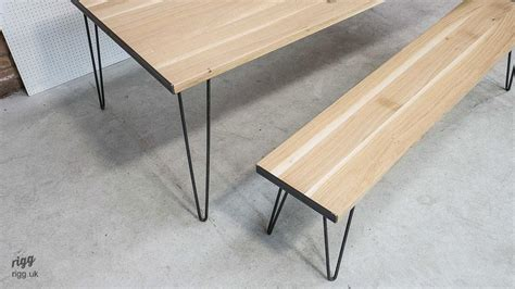 Dining Table With Hairpin Legs Hairpin Leg Dining Table
