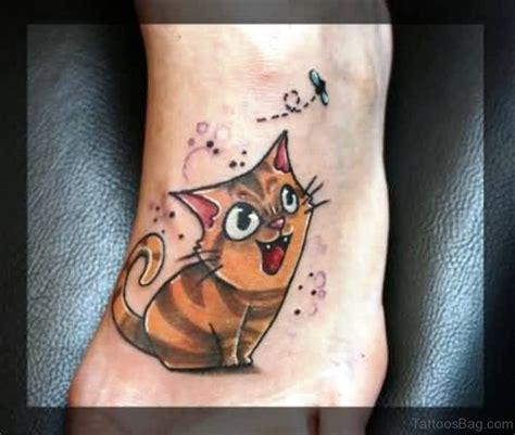 tattoo cat feet 54 sweet cat tattoos on foot