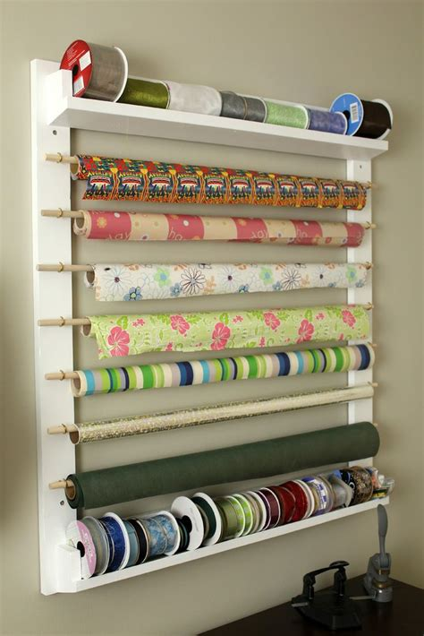 wrapping paper craft 25 best ideas about wrapping paper station on