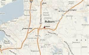 Auburn Washington Map by Auburn Washington Location Guide