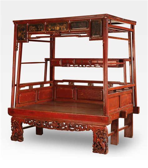 letto a baldacchino antico bellissimo antico letto cinese a baldacchino un pezzo