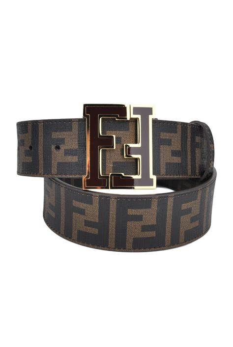 7 Most Fashionable Designer Belts by Fendi Brown Zucca College Belt Designer Clothing Discount