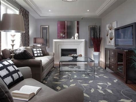 narrow living room  fireplace large living room