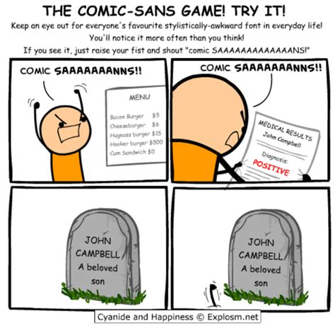 Comic Sans Meme - the comic sans game comic sans know your meme