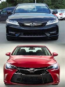Toyota Camry Or Honda Accord 2017 Honda Accord Vs 2017 Toyota Camry