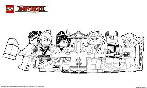 film de ninja go coloriage lego ninjago le film gentils ninjagos