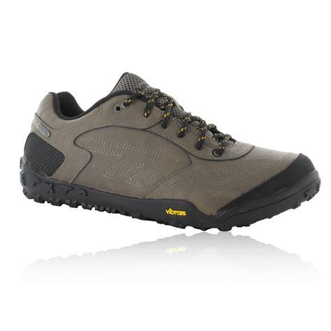 hi tec shoes hi tec mens bartholo grey waterproof light trail walking