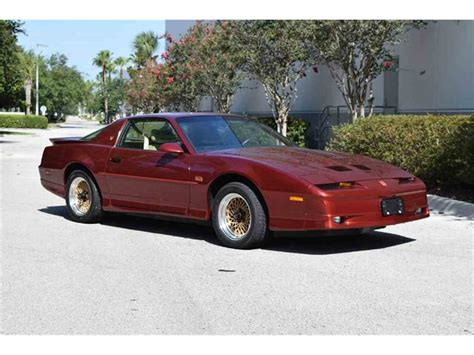 87 pontiac trans am 1987 pontiac firebird trans am for sale classiccars