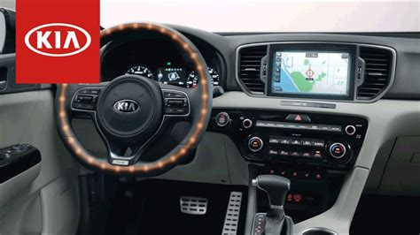 interior kia sportage 2017 kia sportage interior technology features