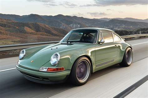 purple porsche 911 photo gallery porsche 911 reimagined by singer in green