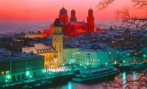 Tranquility by Bavaria In Southern Germany Christmas Market Advent Passau