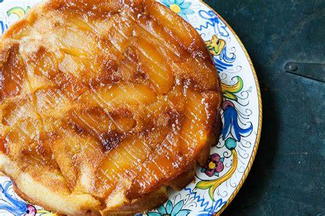 apple upside  cake recipe simplyrecipescom