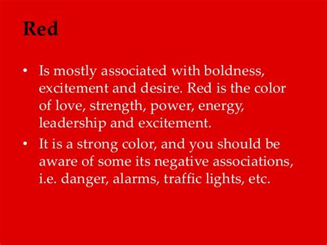 color of strength is mostly associated with