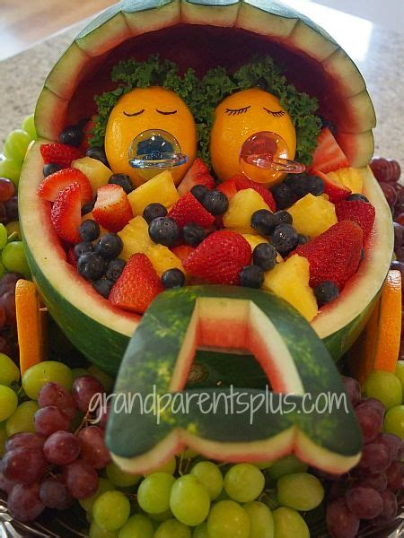 Salad For Baby Shower by Fruit Salad For A Baby Shower Baby Buggy From A