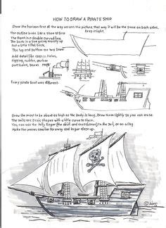 how to draw a boat in java pirate ship 16th century pirate ship caravel coloring