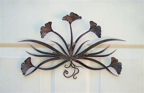 Handmade Sculpture - ginkgo handmade metal wall sculpture