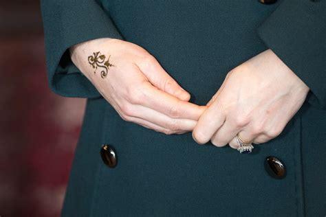 kate middleton gets a henna popsugar
