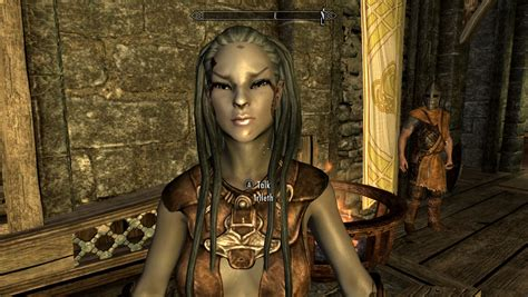 skyrim change npc hair skyrim hair changer hroki hair change without texture
