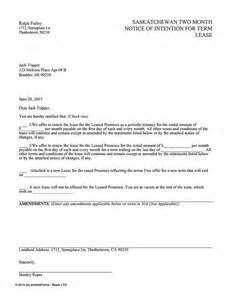 Rent Increase Letter New York 1 Month Notice To End Tenancy Letter Template Letter Template 2017