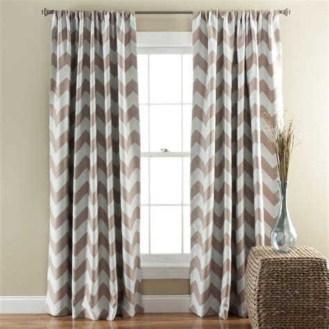 Gray Chevron Curtains Decorate Room With Gray Chevron Curtains Prefab Homes