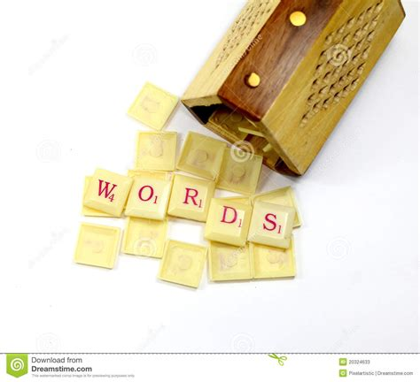scrabble z words scrabble words stock image image of learn indoor
