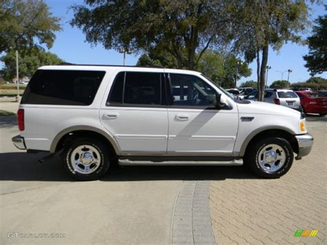 2001 ford expedition eddie bauer oxford white 2001 ford expedition eddie bauer exterior