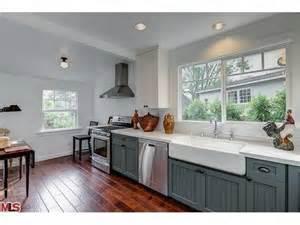 Blue Grey Kitchen Cabinets by Blue Gray Kitchen Cabinets Maybe Kitchen Pinterest