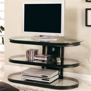 tv stand glass shelves black glass tv stand chicago