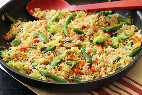 vegetables and rice vegetable fried rice cheap eats