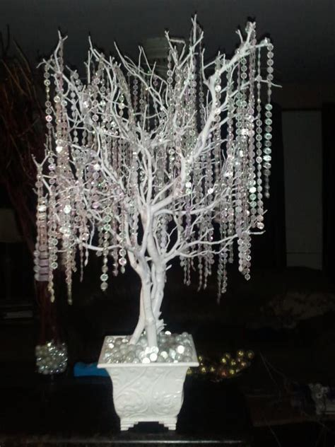 Crystal wedding trees for centerpieces! approx. 30 36
