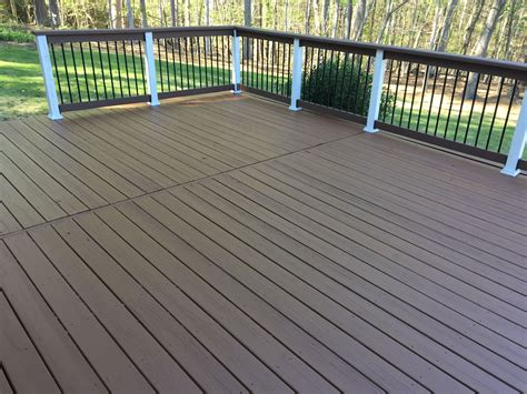 deck today  love  double shade deck paint