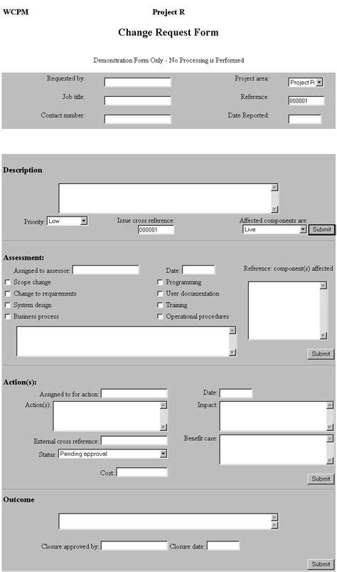 Scope Change Control Deductive Change Order Template