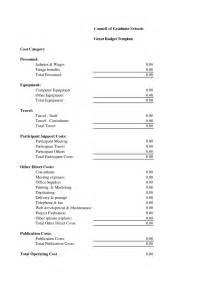 Budget For Grant Proposal Template Best Photos Of Budget Proposal Template Sample Grant