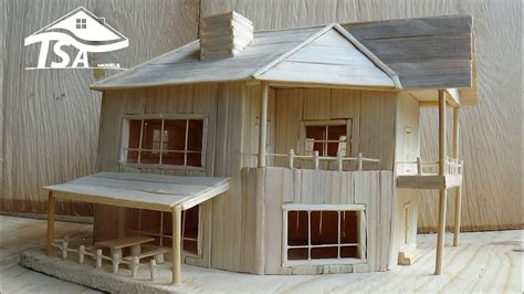 how to house how to make a wooden model house 2016