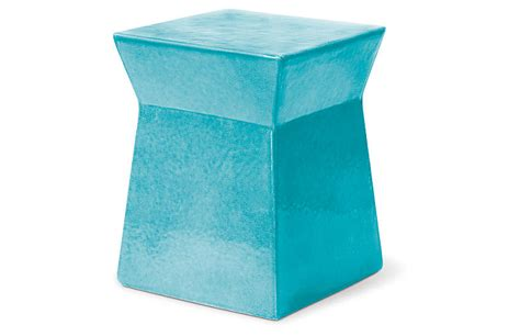 turquoise outdoor side table ashlar outdoor side table turquoise outdoor furniture