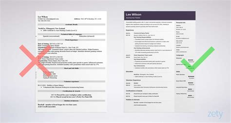 Unique Resume Templates by Unique Resume Templates 15 Downloadable Templates To Use Now