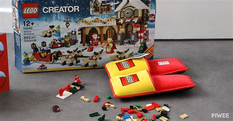 toy boat unique new york slippers designed to protect bare feet from lego bricks
