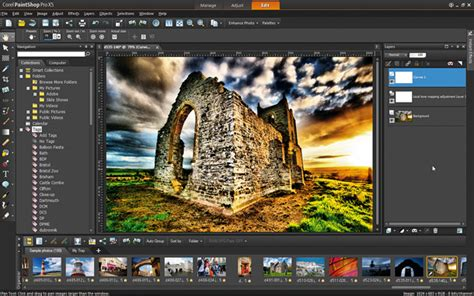 Corel paintshop pro x5 review photo editing dcm134 kit group paintshop