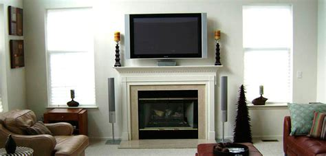 installing tv fireplace tv installation richmond
