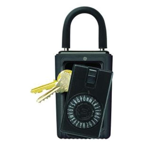 kidde portable 3 key box with spin combination lock